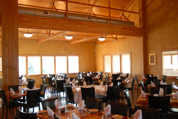 Restaurant main floor
